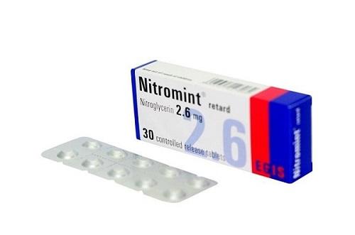 Thuốc giãn mạch Nitromin giúp điều trị suy tim