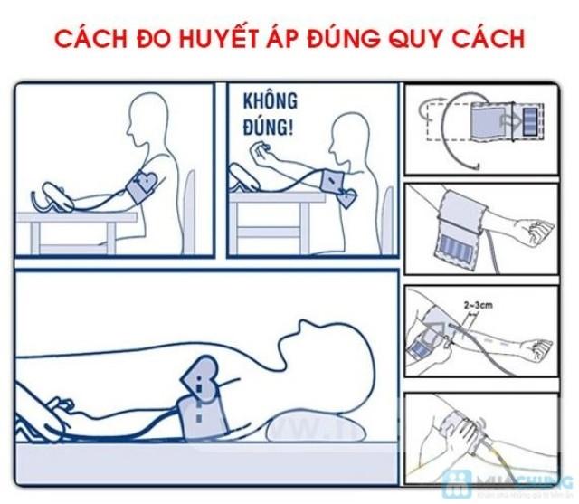 Cách đo huyết áp đúng quy cách