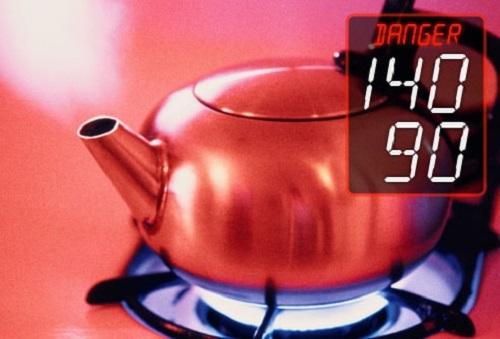 Chỉ số huyết áp >= 140/90 mmHg được gọi là cao