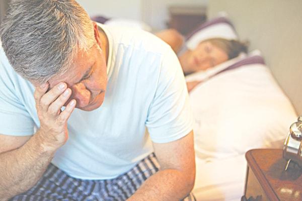Khi mất ngủ, cơ thể không được nghỉ ngơi, thần kinh mệt mỏi khiến huyết áp tăng